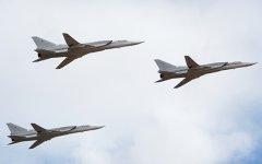 Российские бомбардировщики Ту-22МЗ нанесли удары по складам ИГИЛ в Сирии