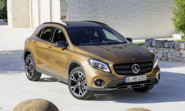 Новый Mercedes GLA замечен на тестах