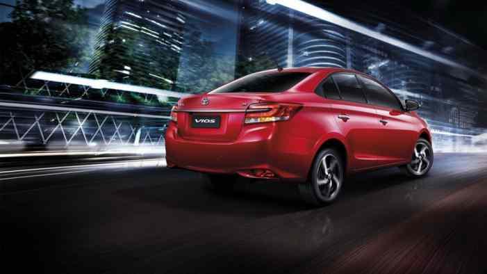 Обновленную Toyota Vios представили в Таиланде
