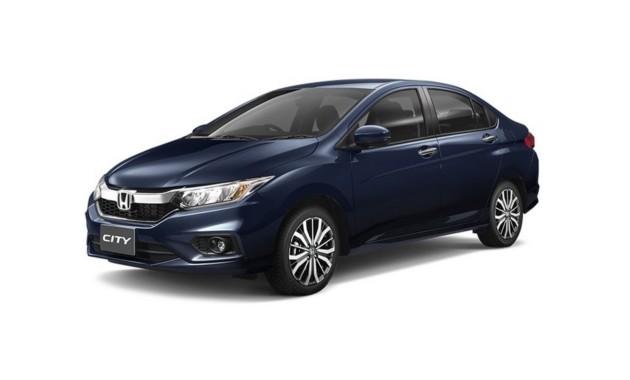 Honda представила рестайлинговый седан City