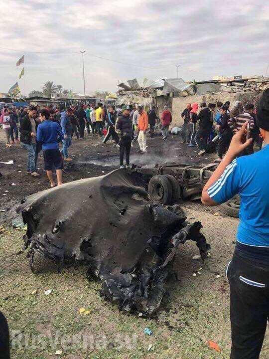 Атака смертника в Ираке: более 30-ти погибших (ФОТО)