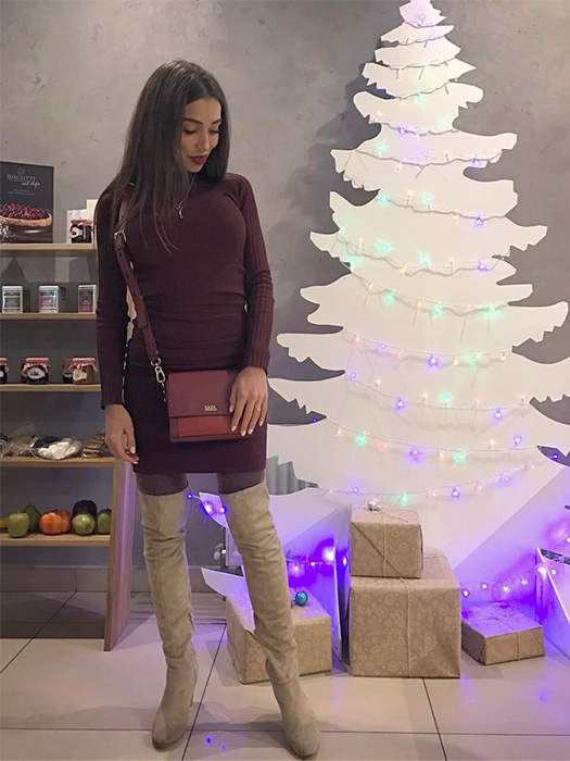 Шубы, туфли и пайетки: праздничная униформа из Instagram