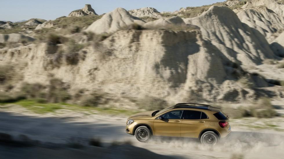 Названы цены рестайлингового Mercedes-Benz GLA