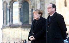 Меркель и Олланд обсудили с Трампом НАТО, Россию и Ближний Восток