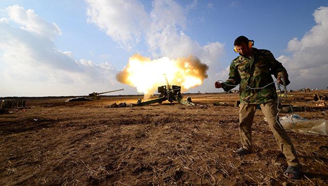 Иракские военные освободили главное правительственное здание в Мосуле