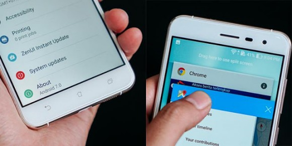 ASUS начала обновлять ZenFone 3 до Android 7.0 Nougat