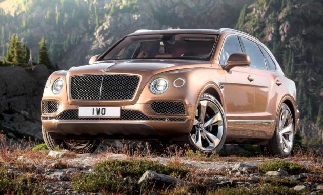 DMC представил оранжевый Bentley Bentayga Gigante