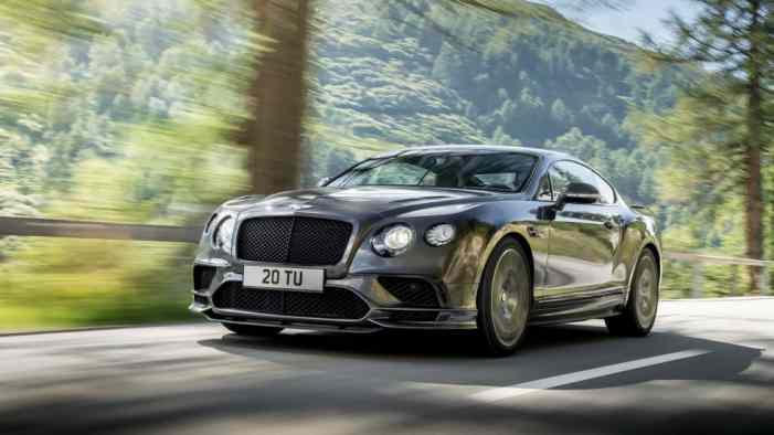 Всего шесть: Bentley впервые поставит V6 на Continental GT