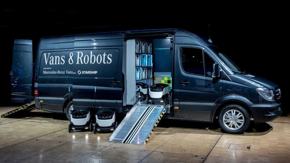 Mercedes-Benz Vans будет поставлять грузы на