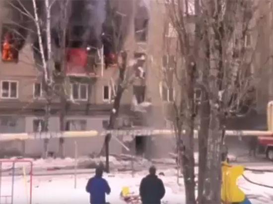 МЧС сообщило о пострадавших при взрыве газа в Саратове