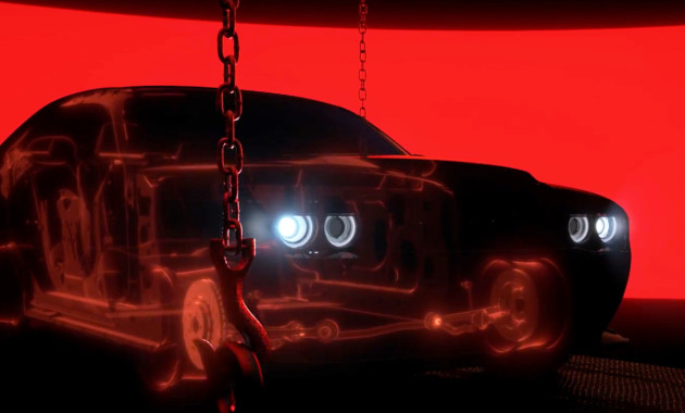 Dodge Challenger SRT Demon будет легче Hellcat