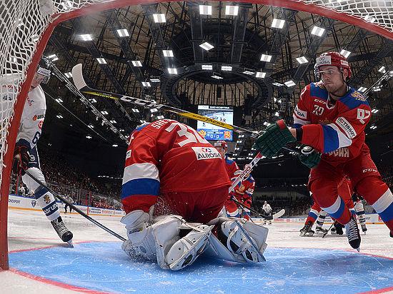 Россия - Швеция: онлайн-трансляция матча хоккейного Евротура