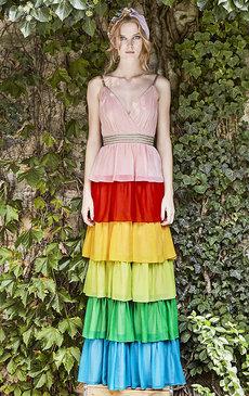 Цветная полоска: разбираем самый яркий весенний тренд