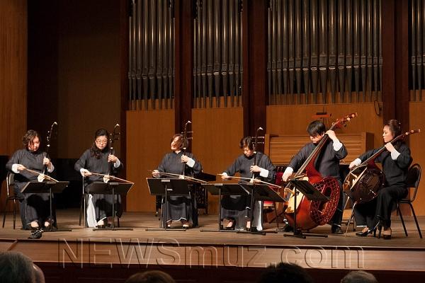 Гонконгский оркестр китайских народных инструментов сыграл в Сочи