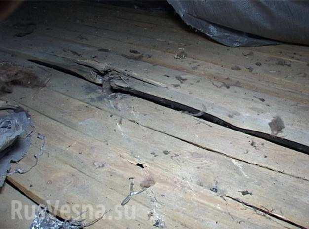 В Киеве из гранатомета обстреляли дом (ФОТО)
