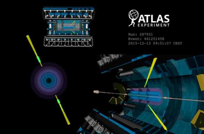 Детектор ATLAS увидел рассеяние света на свете