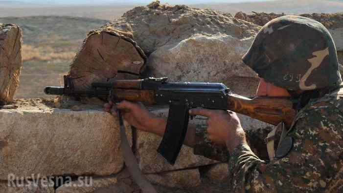 Пятеро азербайджанских военных убиты при наступлении в Карабахе
