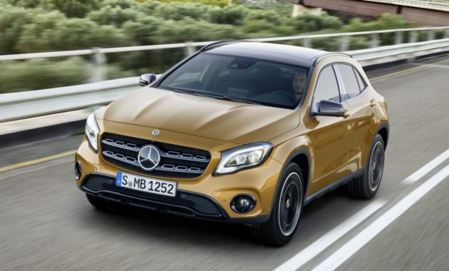 Названы российские цены новых моделей Mercedes-Benz