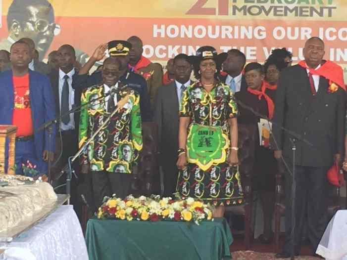 93-летний президент Зимбабве потратил на день рождения два млн евро (ФОТО, ВИДЕО)
