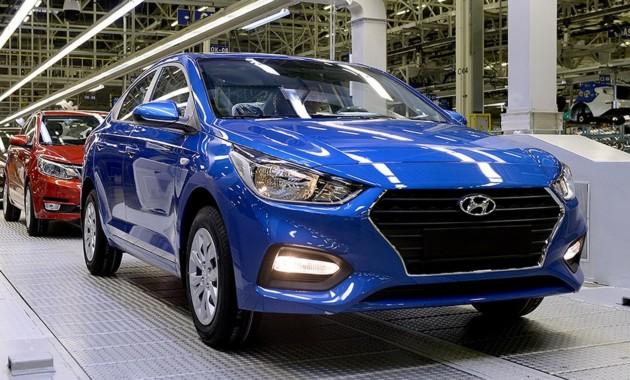 Новый Hyundai Solaris встал на конвейер российского завода