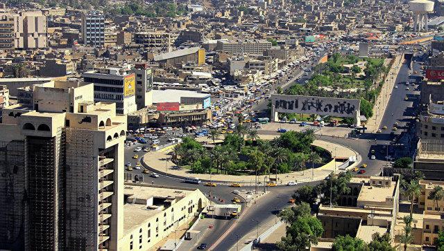 ТВ: правительственный район в Багдаде обстреливается реактивными снарядами