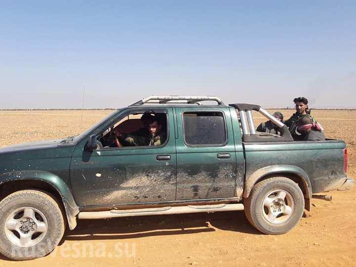 «Тигры» и ВКС РФ берут под огневой контроль оплот ИГИЛ в Алеппо, уничтожая и беря в плен боевиков (ФОТО, КАРТА)
