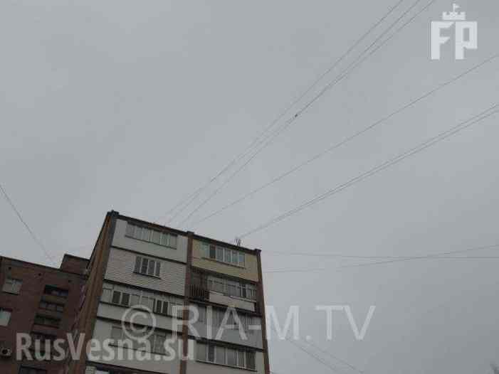 Над Мелитополем взвился российский флаг (ФОТО)