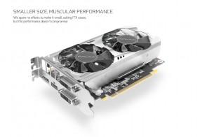 Представлена компактная видеокарта Galax GeForce GTX 1070 Mini