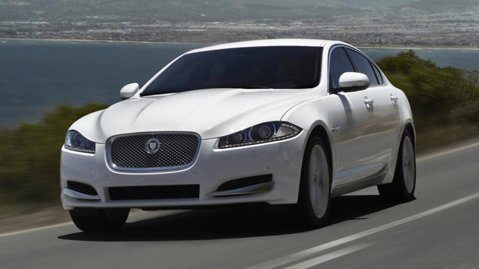 Седаны Jaguar XF попали под отзыв в России