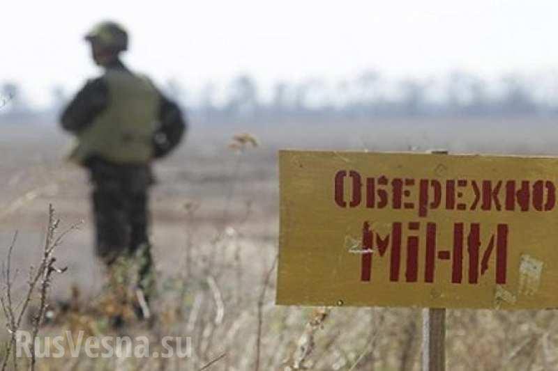 Украинские военные начали минировать Авдеевский коксохимический завод