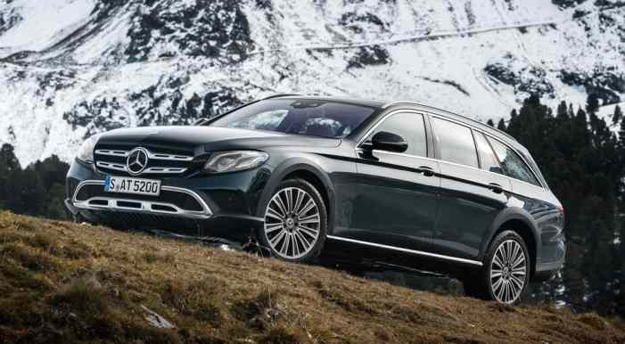 Известна цена Mercedes-Benz E-Class All-Terrain для России