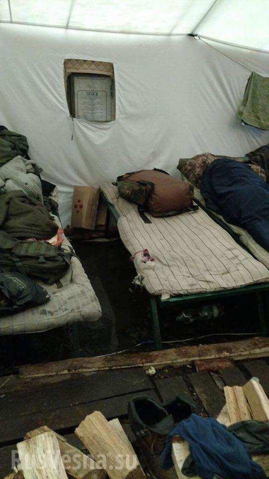 Шокирующие кадры: Украинские военные живут в нечеловеческих условиях (ФОТО)