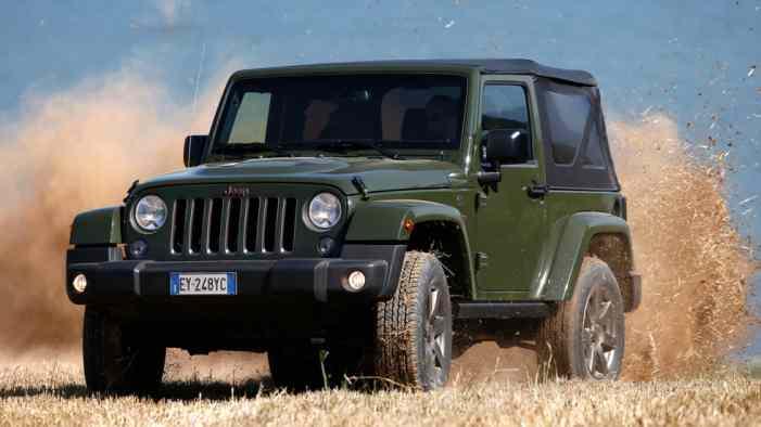 В Сети опубликовали фото решётки нового Jeep Wrangler