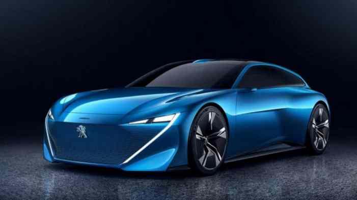 Peugeot построил новый концепт