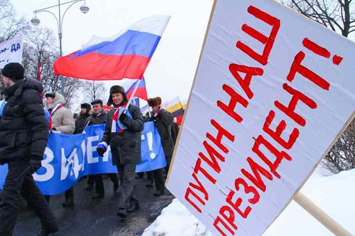 Кремль подготовится к выдвижению Путина в президенты в последний раз