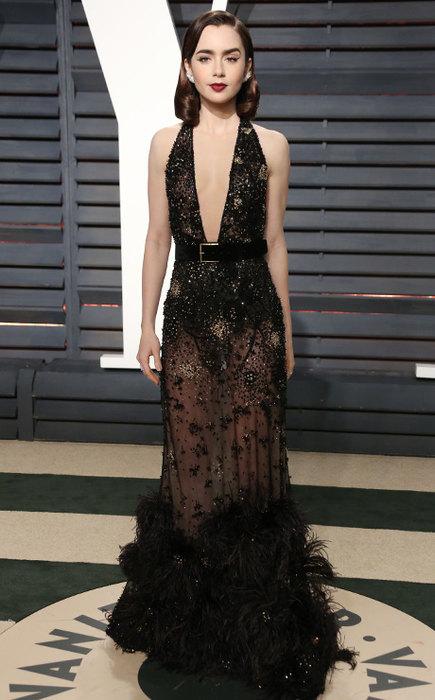 10 «голых» платьев звезд на вечеринке после «Оскара»