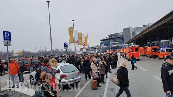 Аэропорт Гамбурга эвакуирован из-за утечки неизвестного вещества: отравились 50 человек (ФОТО, ВИДЕО)