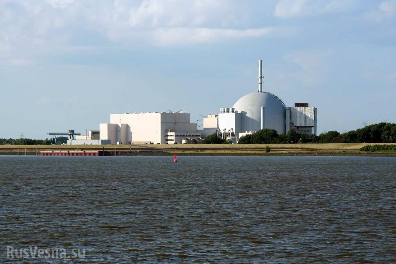 В ФРГ эвакуировали пять АЭС