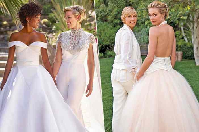 Кружева и смокинги: самые стильные гей-свадьбы звёзд