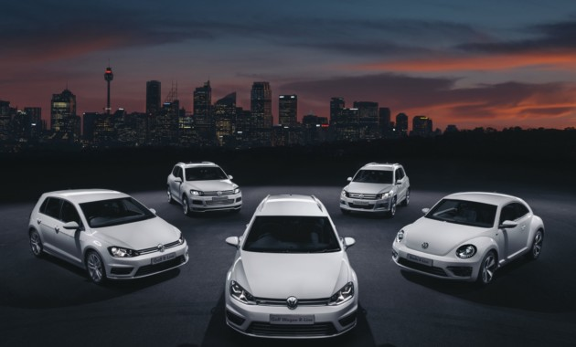 Статистика продаж новых машин Volkswagen в феврале 2017-го