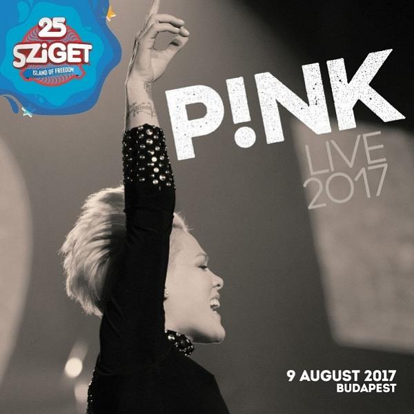 Pink станет хедлайнером фестиваля Sziget