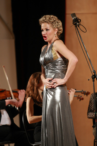 Мария Максакова даст в Киеве концерт памяти мужа