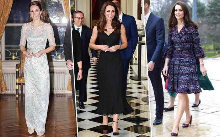 Кейт Миддлтон в Париже: 5 безупречных образов герцогини