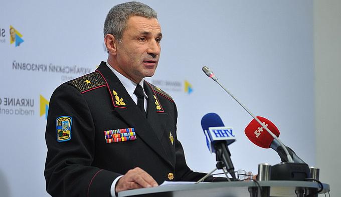 Командующий ВМС Украины хранит билет на совместный парад с Россией