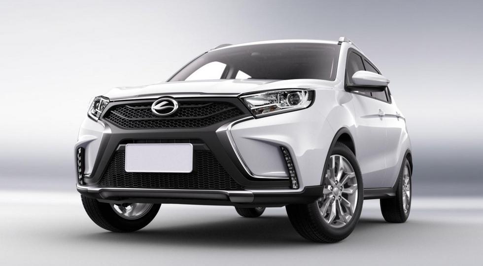 Официальные фото китайского клона Lada Xray