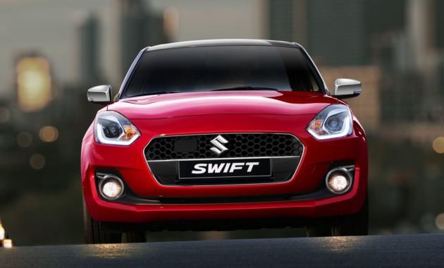 Suzuki Swift Web Limited Edition доступен для заказа в Европе