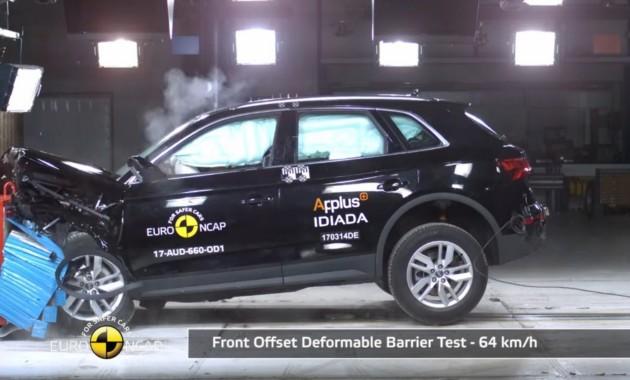 Пять звезд: Audi Q5 и Land Rover Discovery прошли тесты Euro NCAP