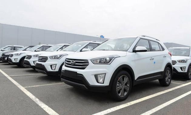 Известны результаты продаж машин в Санкт-Петербурге в январе