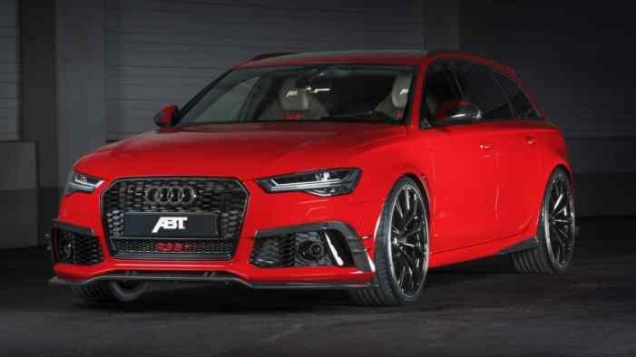 В ABT подготовили «дикий» универсал Audi