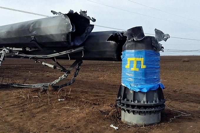 Официальный Киев впервые признал, что подрыв ЛЭП на границе с Крымом был ошибкой